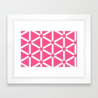 Wildeman Pink Framed Art Print
