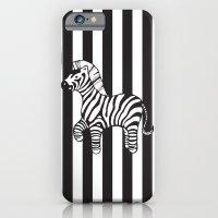 Zebra Stripe iPhone 6 Slim Case