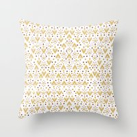 Geometric Diamond Repeat… Throw Pillow