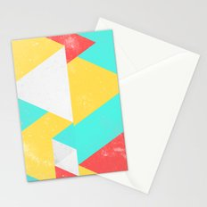 Triangle Pattern I Stationery Cards