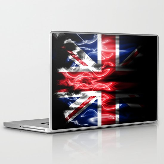 British flames  Laptop & iPad Skin