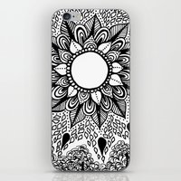 Black And White Doodle 2 iPhone & iPod Skin