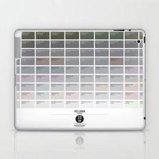 PANTONE glossary - Iceland - Hellnar Laptop & iPad Skin