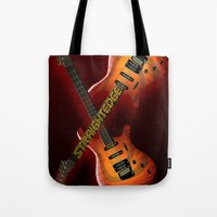 Straight Edge Tote Bag