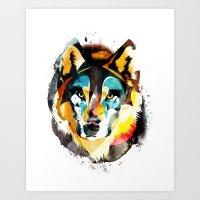 Wolfff Art Print