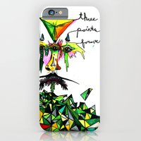 iPhone & iPod Case featuring Three Points Forever by czavelle