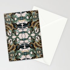 Snakes and Chains Stationery Cards