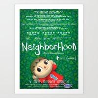 Neighborhood Art Print