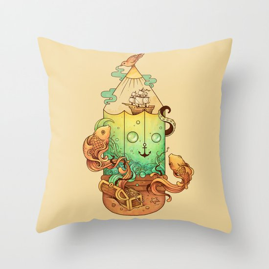 Joy of Creativity Throw Pillow