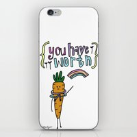 Worthy YOU. iPhone & iPod Skin