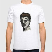 The Face Mens Fitted Tee Ash Grey SMALL