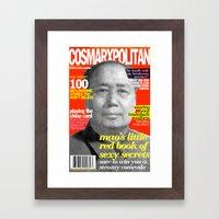 COSMARXPOLITAN, Issue 9 Framed Art Print