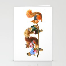 Squirrels Go To Tea Stationery Cards