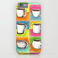 I drew you 9 little mugs of coffee iPhone 6s Slim Case