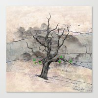 Jake's Tree Canvas Print