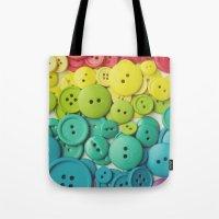Cute as a button Tote Bag