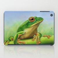 Moltrecht's Green Treefrog iPad Case