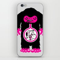 Yeti Stomach Contents iPhone & iPod Skin