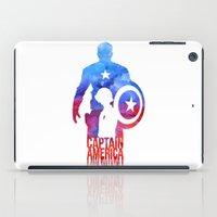 Captain America iPad Case