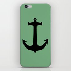 Anchors Away! iPhone & iPod Skin