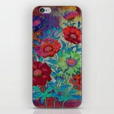 floral old tile iPhone & iPod Skin