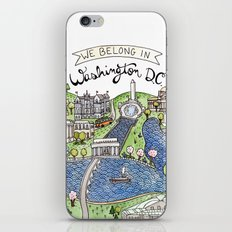 Washington DC iPhone & iPod Skin