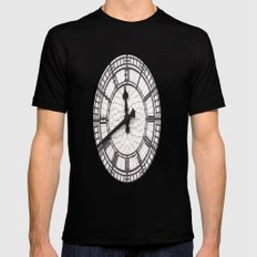 The Countdown is on SMALL Black Mens Fitted Tee