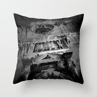 Midnight in Dubrovnik 03 Throw Pillow