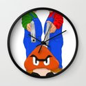 Super Bundock Bros Wall Clock