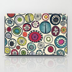 Honolulu hoops cream iPad Case