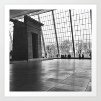 Temple Of Dendur Art Print