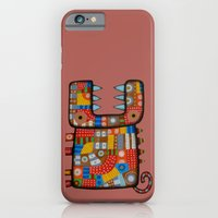 iPhone & iPod Case featuring Dog hippo by Rudolf Brancovsky