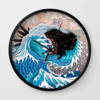 The Unstoppabull Force Wall Clock