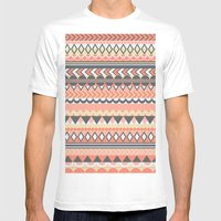 Bohemian  Mens Fitted Tee White SMALL