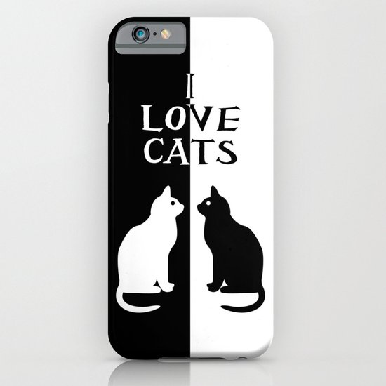 OPPOSITES LOVE: CATS iPhone & iPod Case