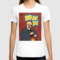 Bed-Stuy Fieri Womens Fitted Tee White SMALL