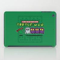 Hero In A Pac-Shell (Rap… iPad Case