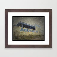 Reefworld Aquarium Framed Art Print