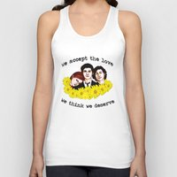 Perks of being a Wallflower Unisex Tank Top