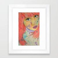 Allison Framed Art Print