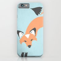 iPhone & iPod Case featuring Foxy Roxy by Beth Thompson