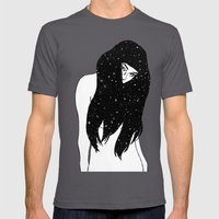 The Universe Within Mens Fitted Tee Asphalt SMALL