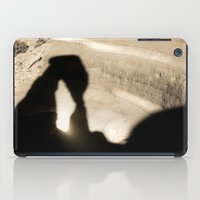 Delicate Arch shadow iPad Case