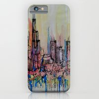 chicago iPhone & iPod Cases featuring Chicago by silvsstang