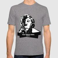 Marilyn Monroe. Rebel: $$$ Mens Fitted Tee Tri-Grey SMALL