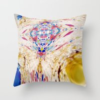 The City Between The Ocean And The Desert Throw Pillow