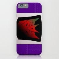 Transformers Generation 1: Rub Sign: Decepticon! iPhone 6 Slim Case