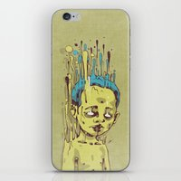 The Golden Boy With Blue… iPhone & iPod Skin