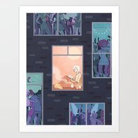 The Upside Of Being An I… Art Print