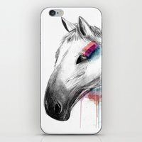 Rainbow Horse iPhone & iPod Skin